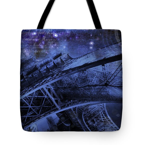 Royal Eiffel Tower Tote Bag