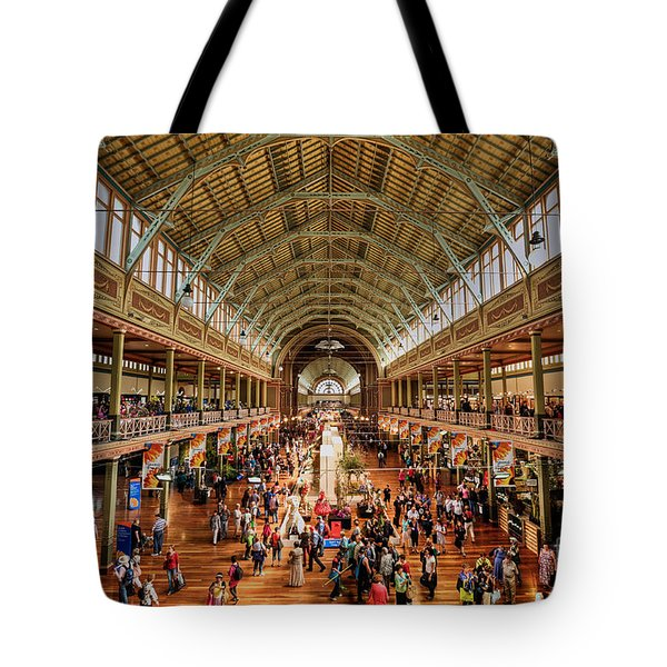 Royal Exhibition Building IIi Tote Bag