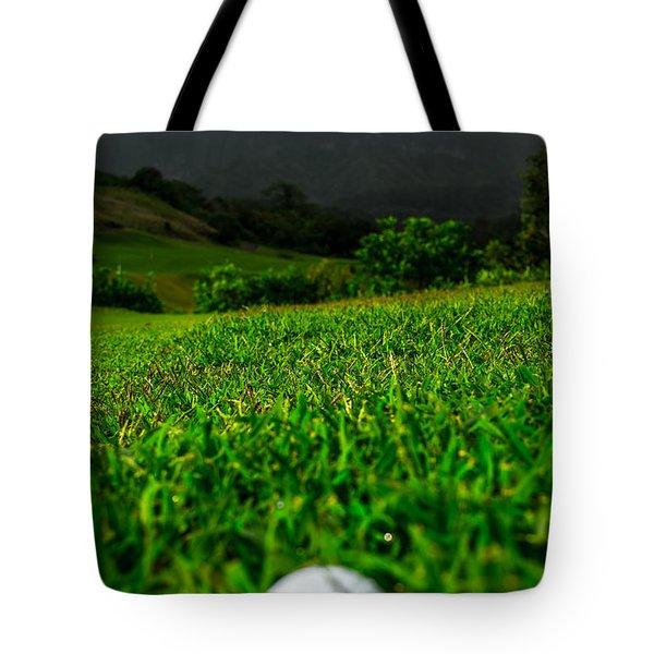 Tote Bag featuring the photograph Royal Hawaiian Golf by Angela DeFrias