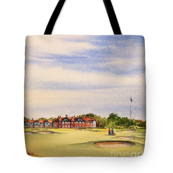 Royal Lytham And St Annes Golf Course Tote Bag