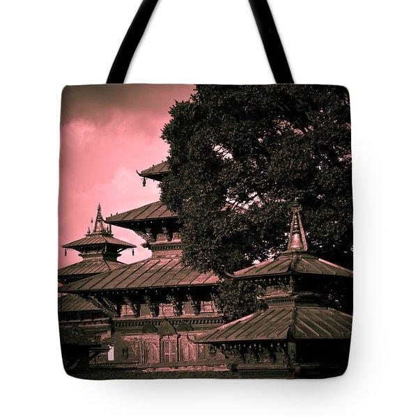 Royal Palace Tote Bag by Nila Newsom