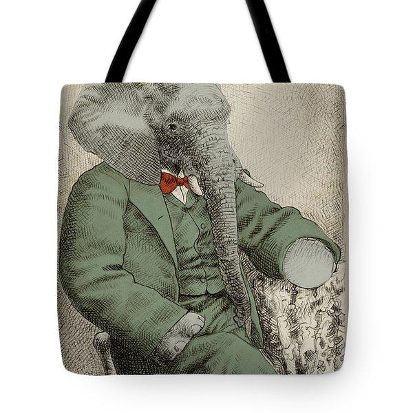 Royal Portrait Tote Bag