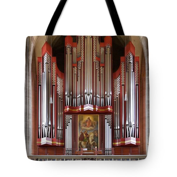 Royal Red King Of Instruments Tote Bag