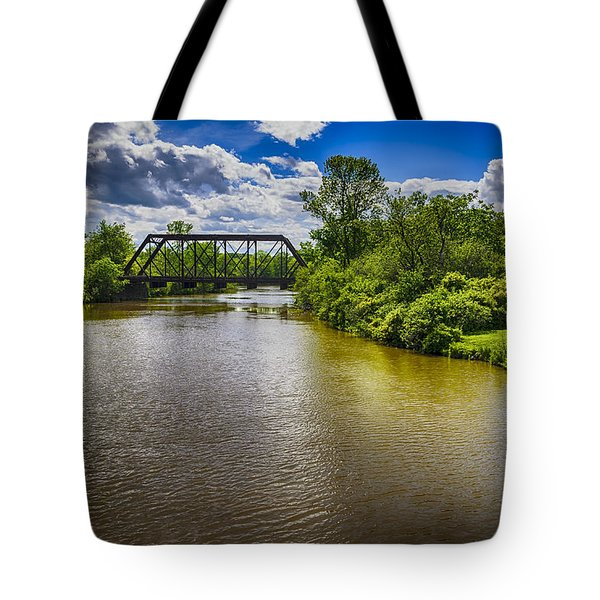 Tote Bag featuring the photograph Royal River by Mark Myhaver
