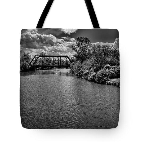 Royal River No.2 Tote Bag by Mark Myhaver