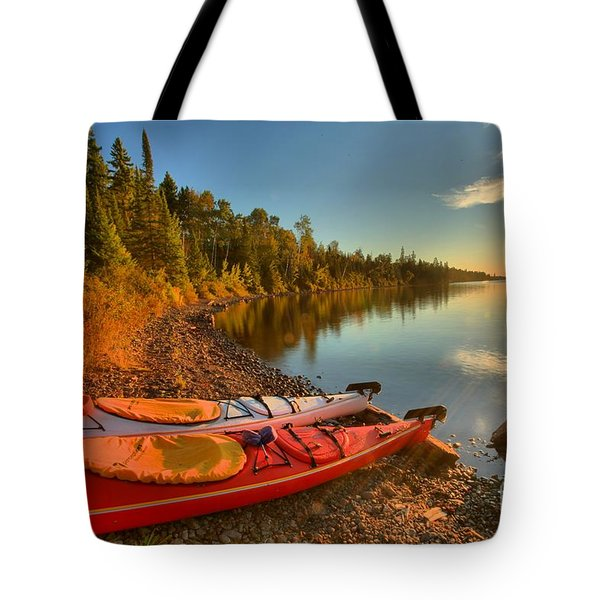 Royale Sunrise Tote Bag