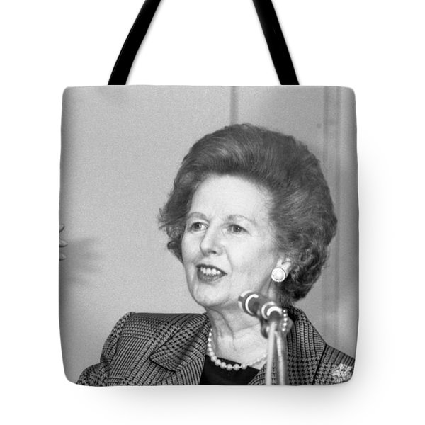 Rt.hon. Margaret Thatcher Tote Bag