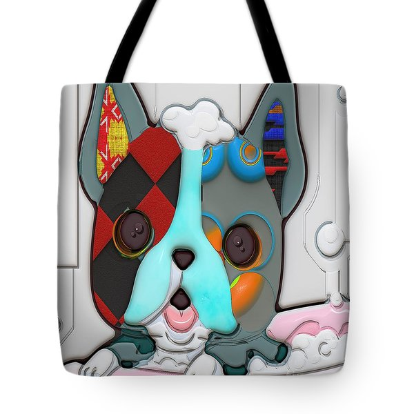 Rub A Dub Dub Puppy In A Tub Tote Bag by Liane Wright