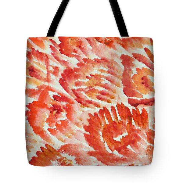 Rubicund Sea Tote Bag by Sonali Gangane