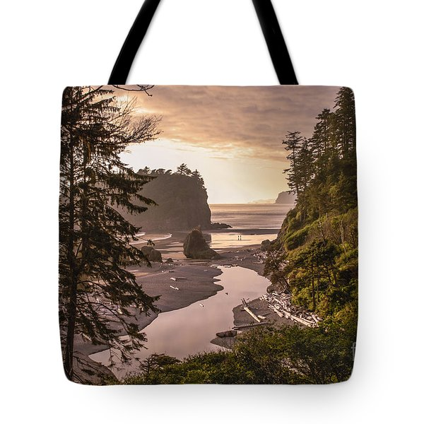 Ruby Beach Landscape Tote Bag