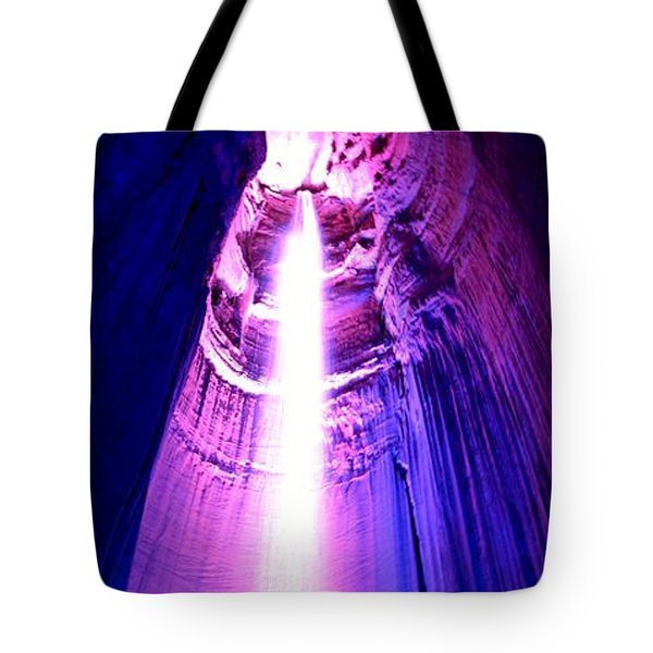 Tote Bag featuring the photograph Ruby Falls by Cathy Shiflett