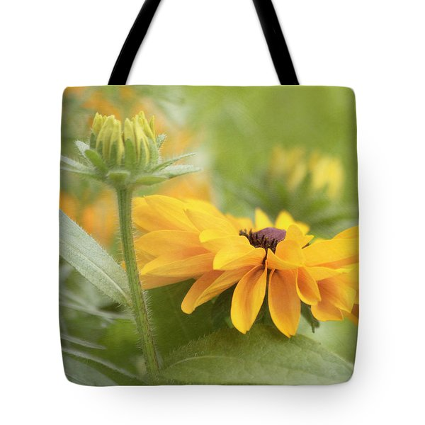 Rudbeckia Flower Tote Bag