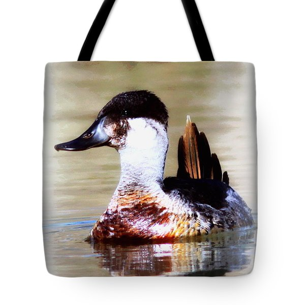 Ruddy Two Tote Bag by Travis Truelove