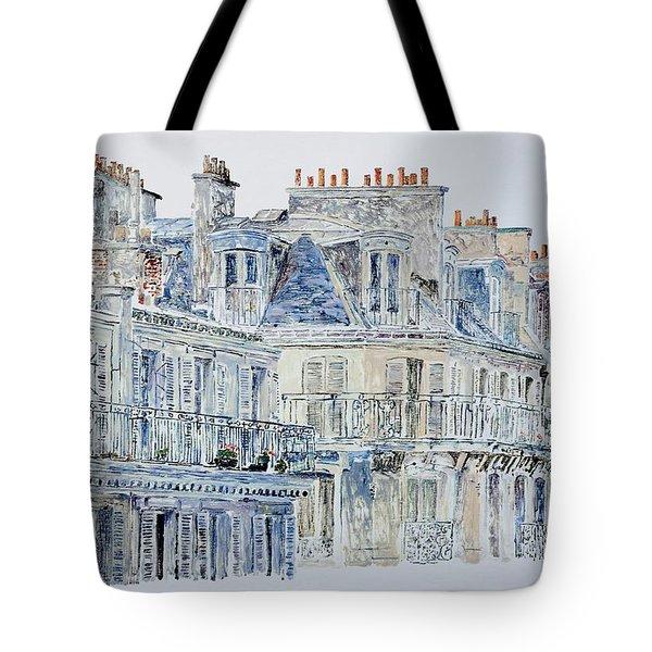 Rue Du Rivoli Paris Tote Bag by Anthony Butera