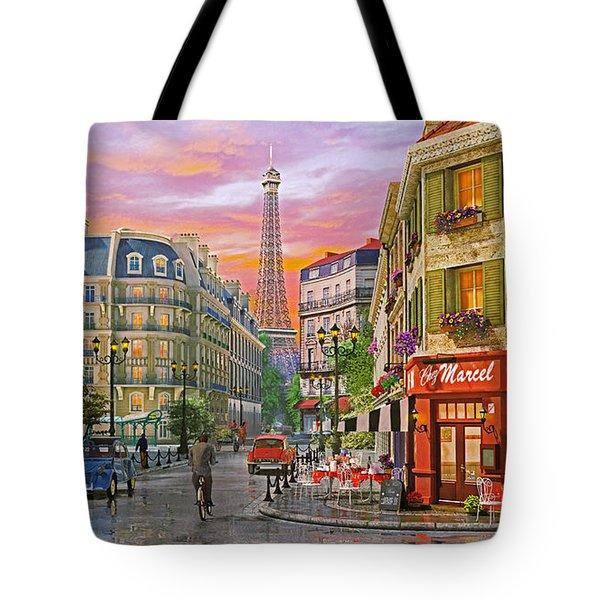 Rue Paris Tote Bag