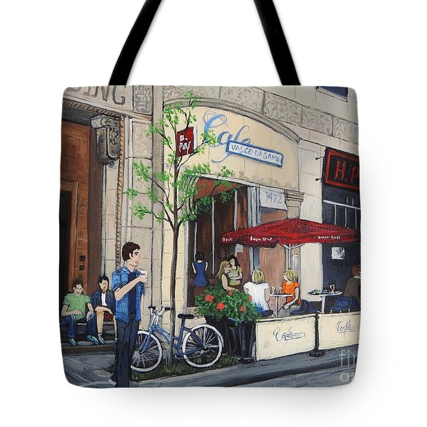 Rue Peel Tote Bag by Reb Frost
