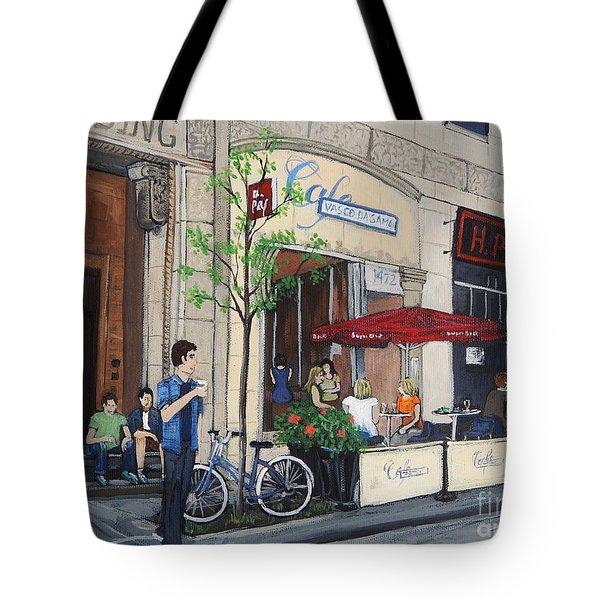 Rue Peel Tote Bag