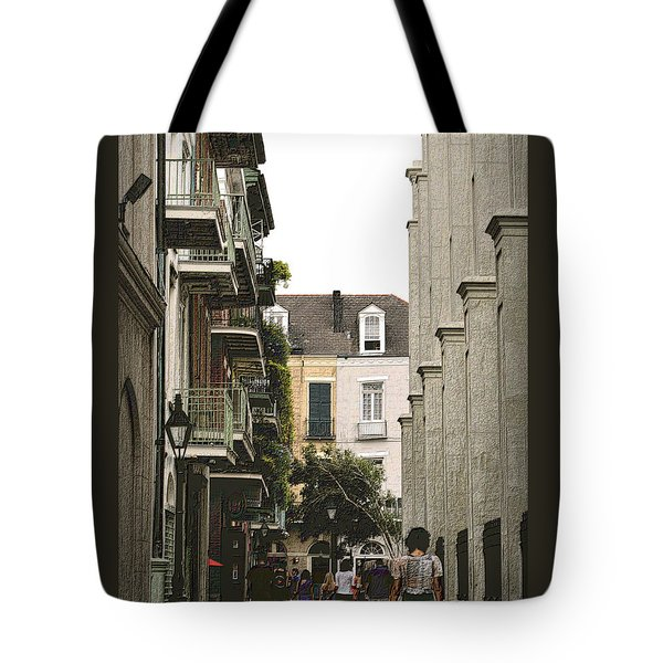 Pere Antoine Alley Tote Bag