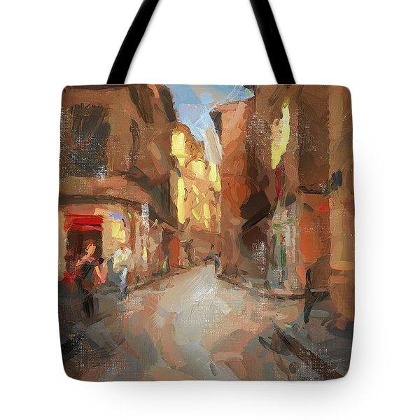 Rue Du Doyenne Tote Bag