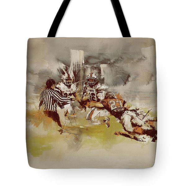Rugby Tote Bag by Corporate Art Task Force