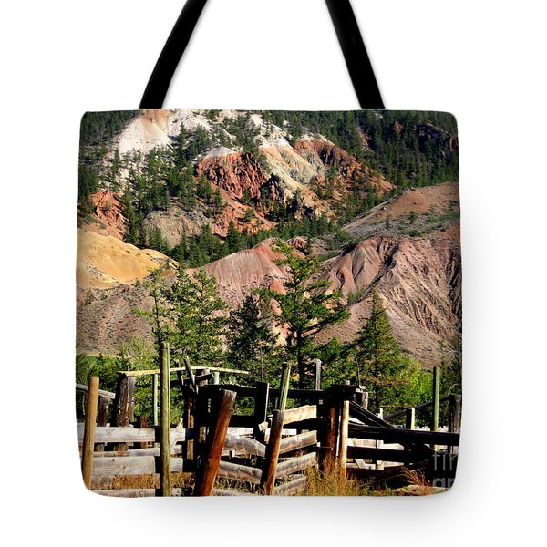 Rugged Beauty Tote Bag by Kathy Bassett