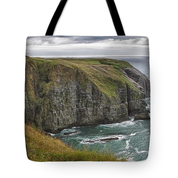 Rugged Landscape Tote Bag by Eunice Gibb