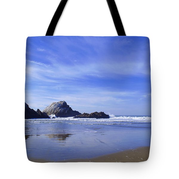 Rugged Reflections Tote Bag
