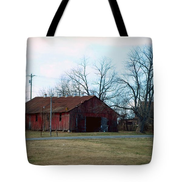 Rugged Shed II Tote Bag by Paulette B Wright