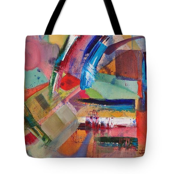 Rugged Strokes Tote Bag
