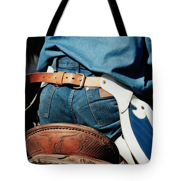 Rugged Wrangler Tote Bag