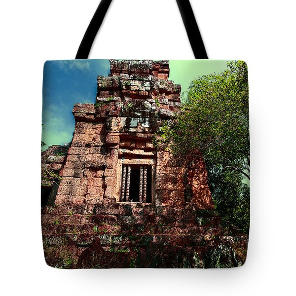 Ruin At Angkor Tote Bag