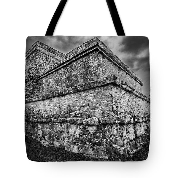 Ruin At Tulum Tote Bag
