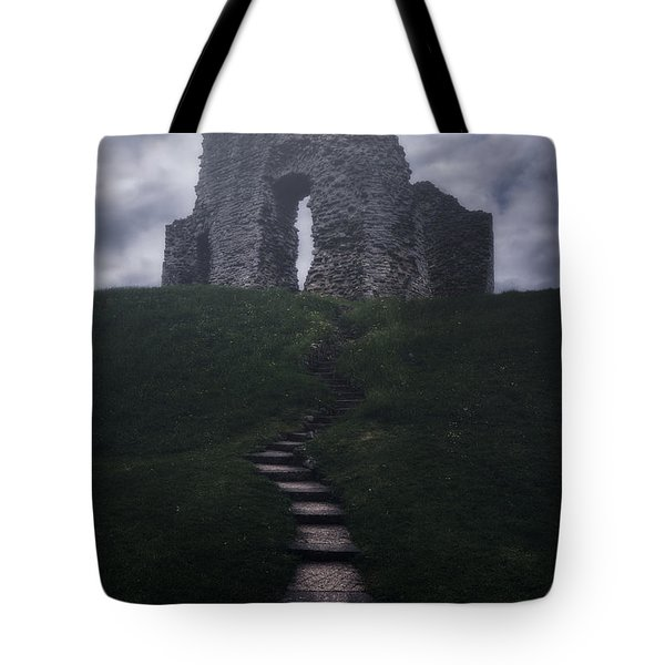 Ruin Of Castle Tote Bag by Joana Kruse