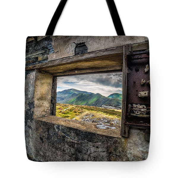 Tote Bag featuring the photograph Ruin With A View  by Adrian Evans