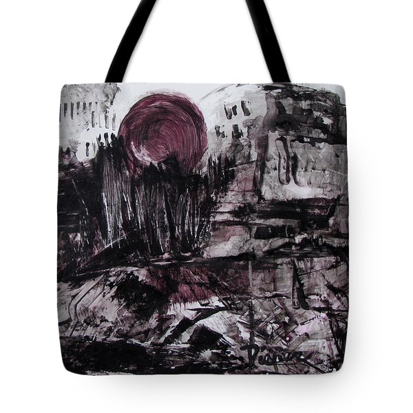 Ruins In Shades Of Gray  Tote Bag