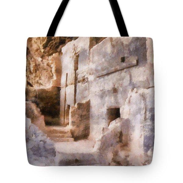 Ruins Tote Bag by Michelle Calkins