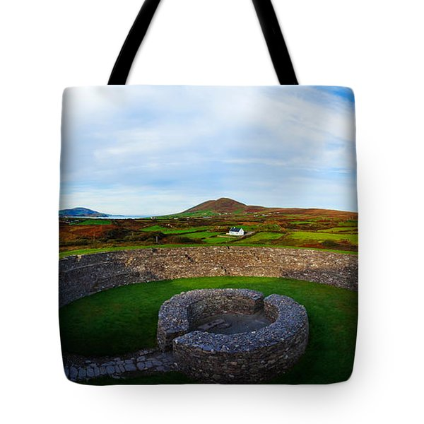 Ruins Of A Fort, Cahergall Stone Fort Tote Bag