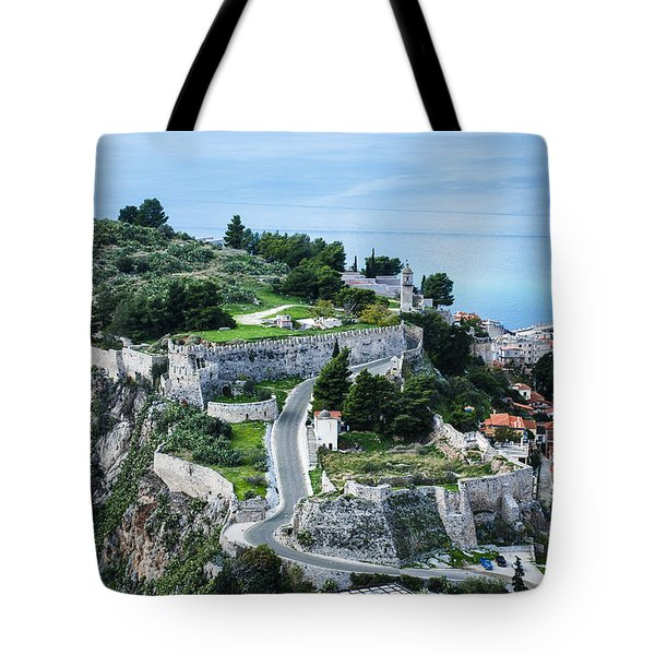 Ruins Of Acronafplia Tote Bag