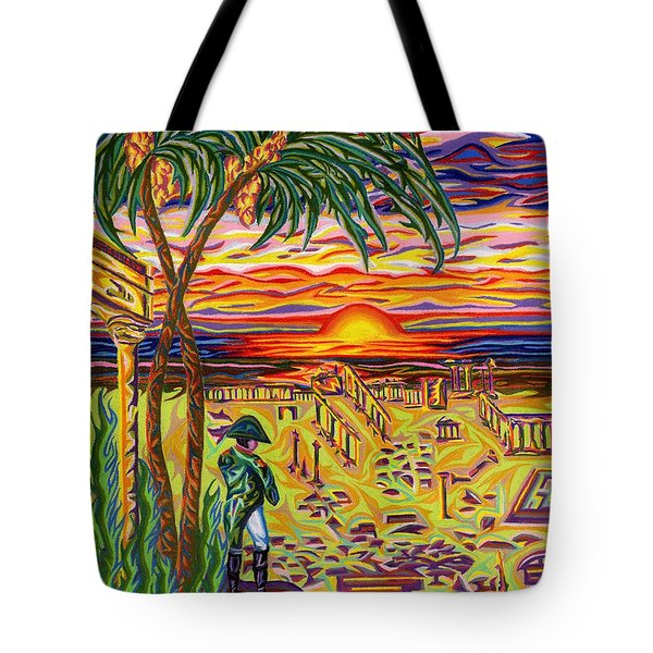 Ruins Of Empires Tote Bag