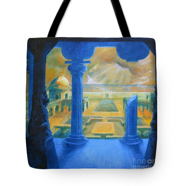 Ruins Of Lankapura Tote Bag
