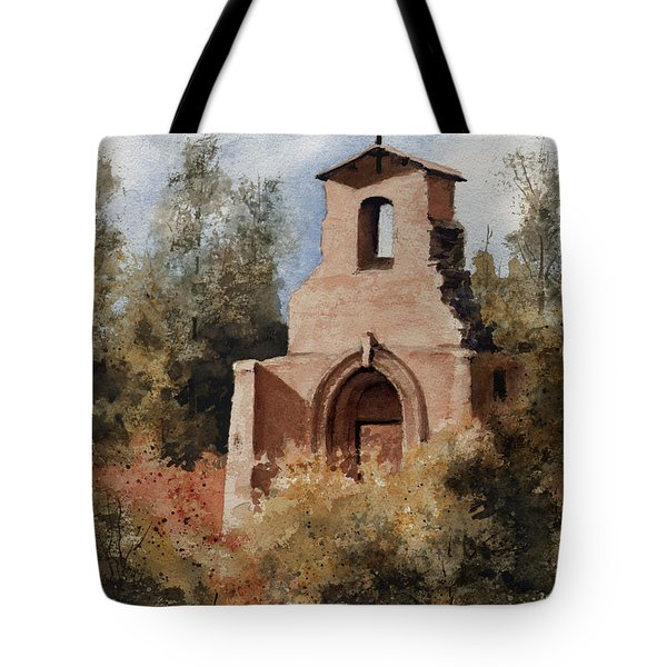 Ruins Of Morley Church Tote Bag by Sam Sidders