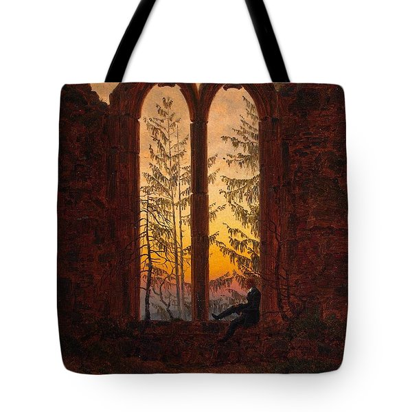 Ruins Of The Oybin Monastery The Dreamer Tote Bag by Philip Ralley