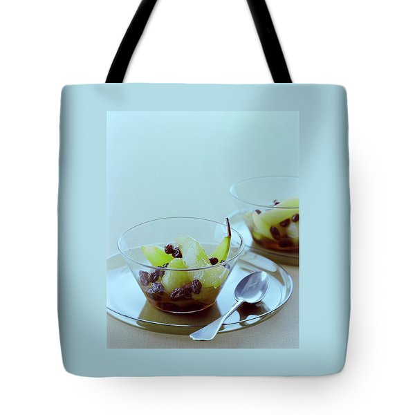 Rum Raisin Poached Pears Tote Bag