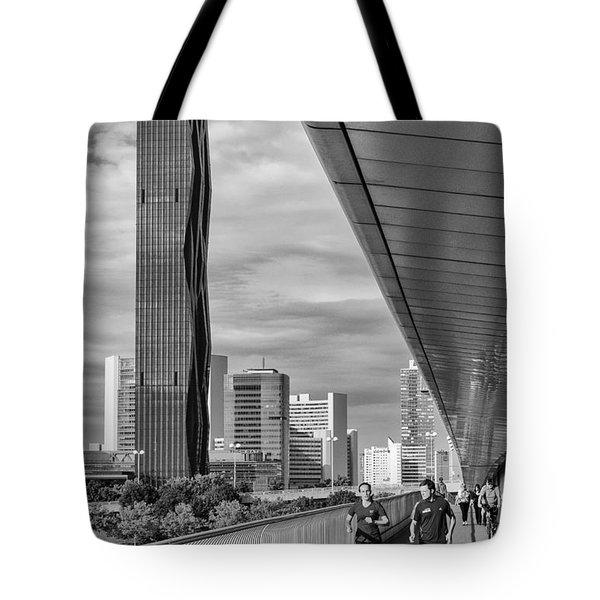Run Across Viena Tote Bag