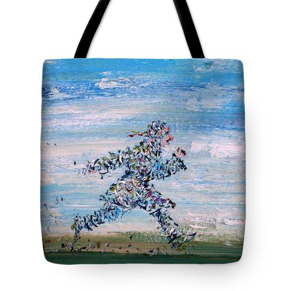 Run Casanova Run Tote Bag by Fabrizio Cassetta