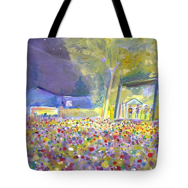 Head For The Hills At The Mish 2011 Tote Bag