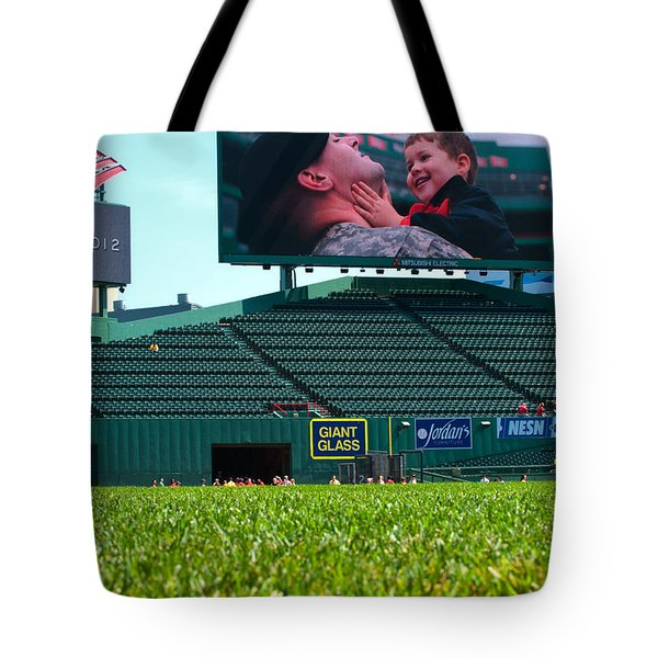 Run To Home Base 2012 Tote Bag by Paul Mangold