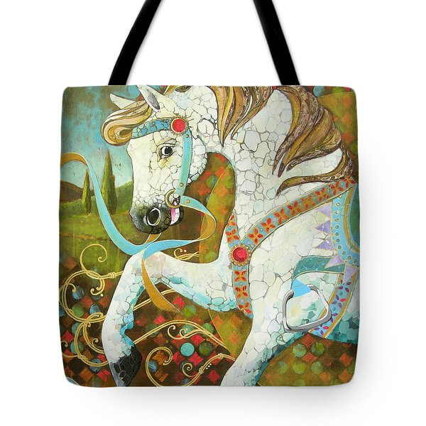 Runaway Rocker Tote Bag by Robin Birrell
