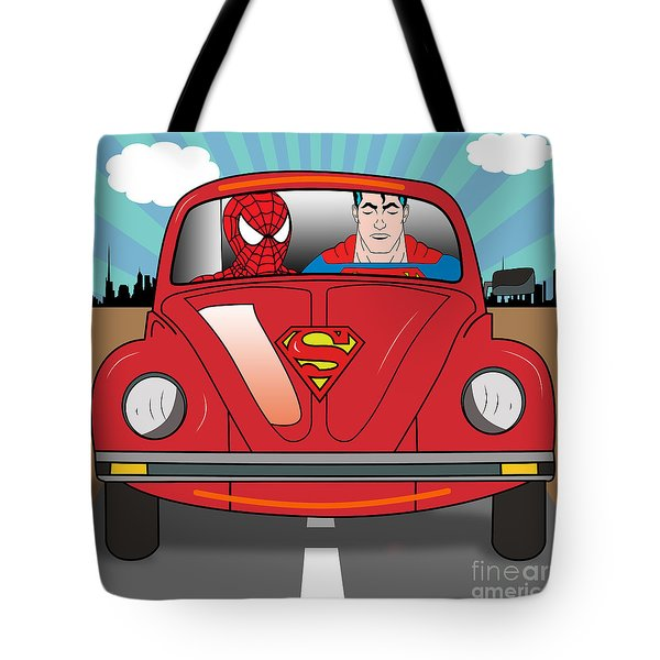 Running Away  Tote Bag by Mark Ashkenazi