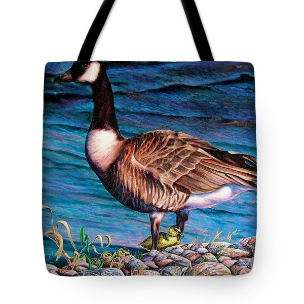 Running For Cover Tote Bag